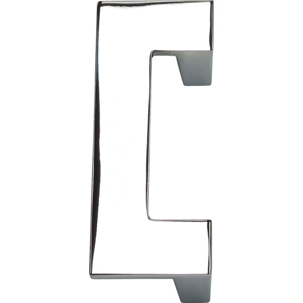 Atlas Homewares U-Turn Collection Polished Chrome 3.1 in. Pull