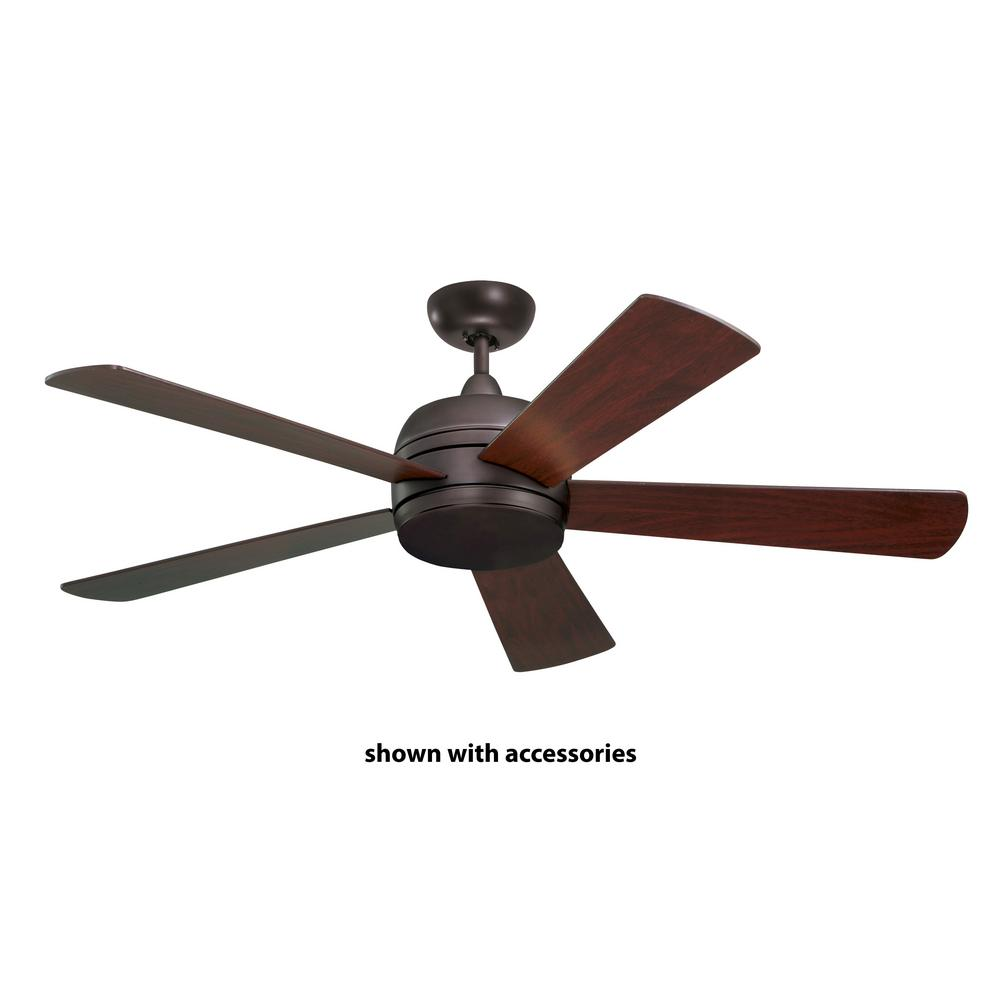 Atomical 52 in. Indoor / Outdoor Oil Rubbed Bronze Ceiling Fan