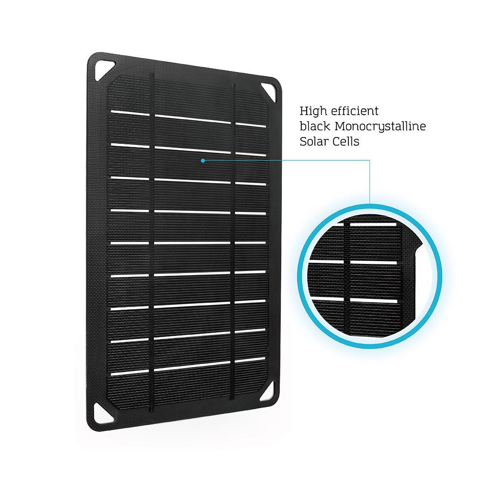 Renogy E Flex 5 Watt Portable Monocrystalline Solar Panel