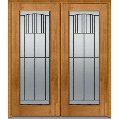 Light Brown Wood - Front Doors - Exterior Doors - The Home Depot