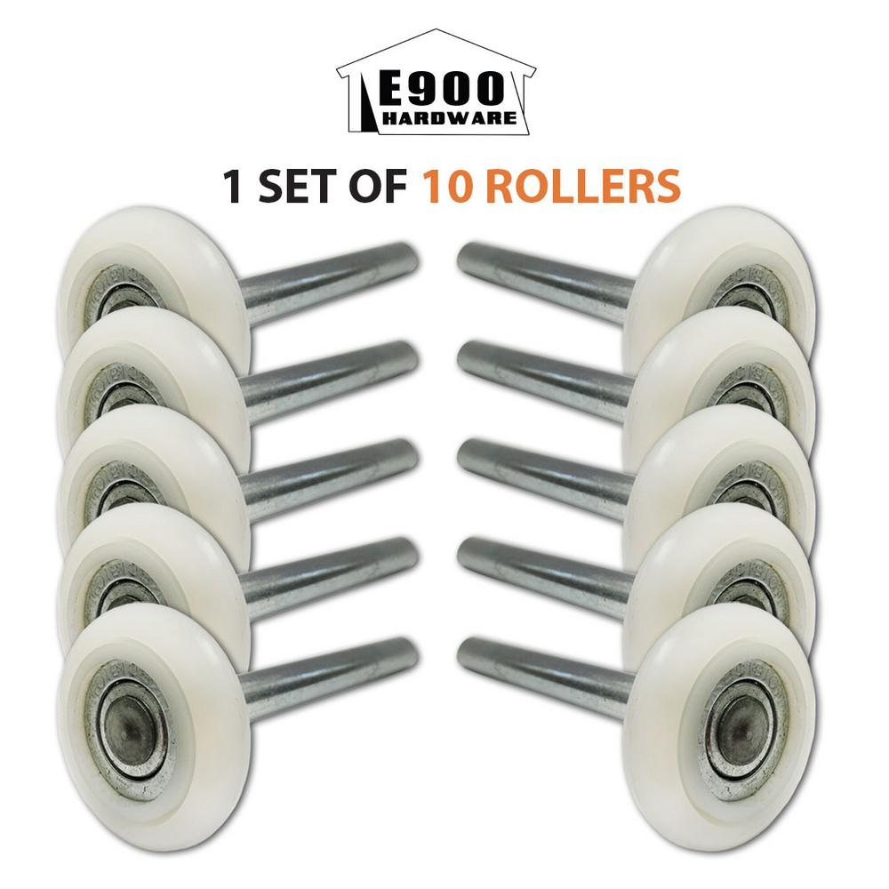 garage door rollersHolmes 2 in 13Ball Nylon Garage Door Rollers with 4 in Steel