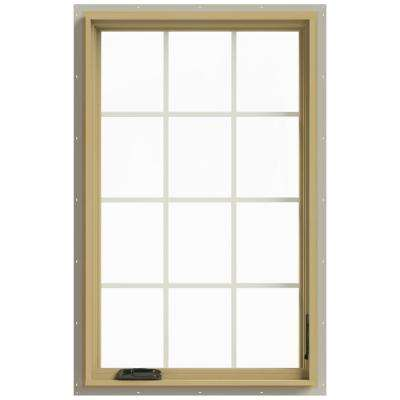 30 in. x 48 in. W-2500 Right Hand Casement Aluminum Clad Wood Window