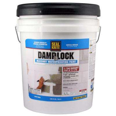 5 gal. Damplock Masonry Waterproofing Paint