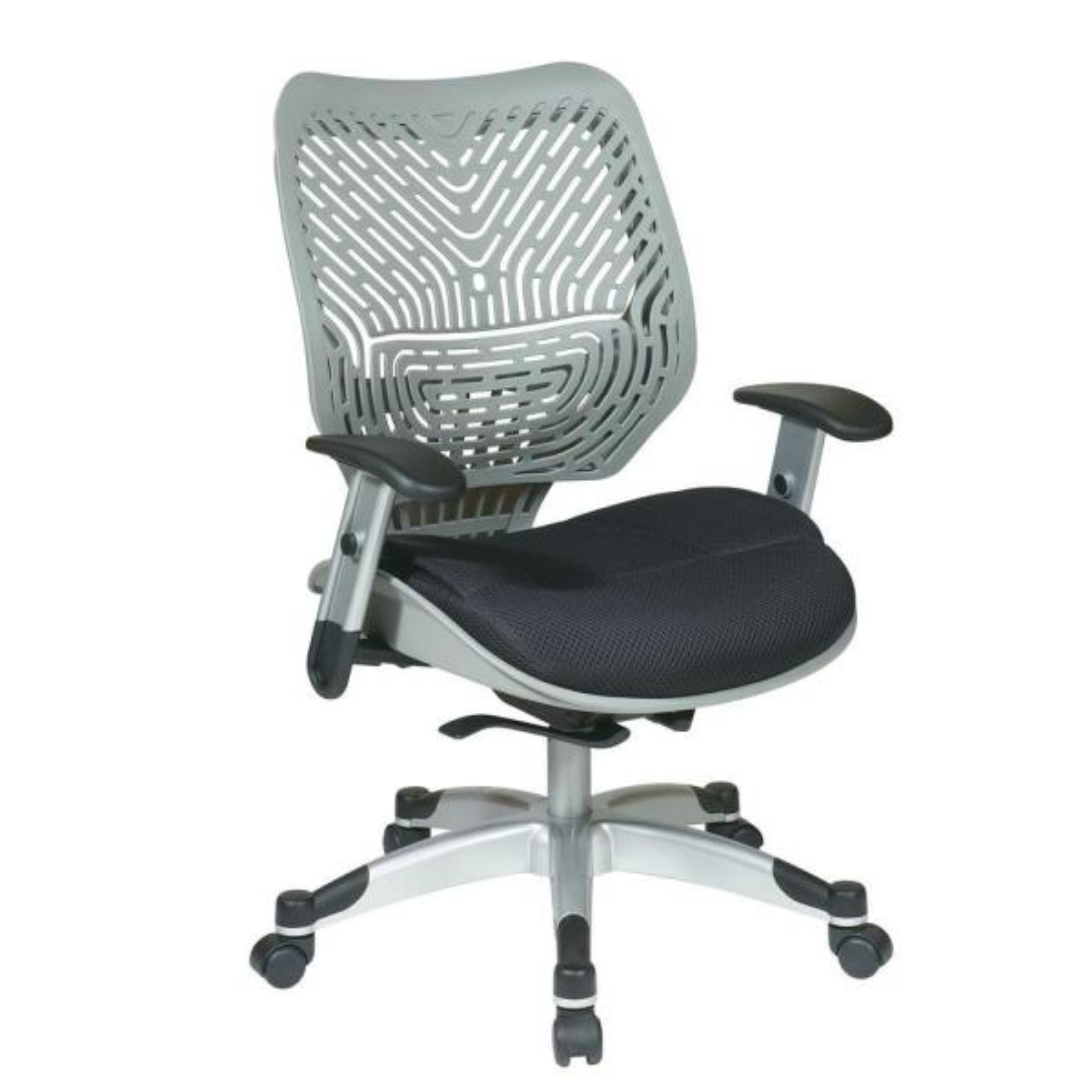 Revv Grey SpaceFlex Self Adjusting Manager Office Chair