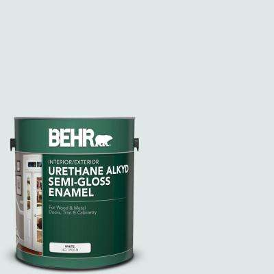 1 gal. #PPU13-17 Fresh Day Urethane Alkyd Semi-Gloss Enamel Interior/Exterior Paint