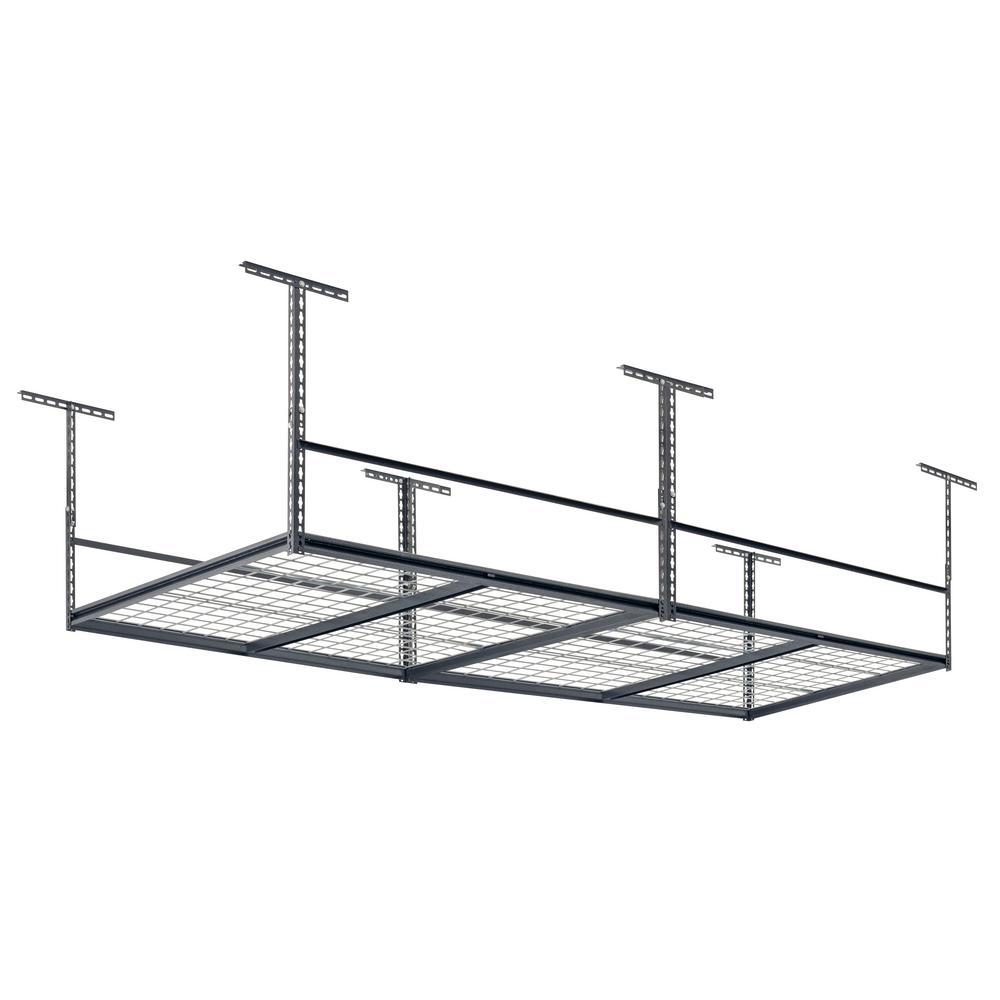 Muscle Rack 28 in. H x 96 in. W x 48 in. D  Adjustable Ceiling Mount Storage Rack