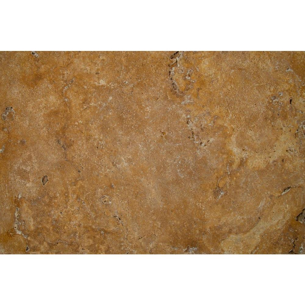 MSI Riviera 16 in. x 24 in. Tumbled Travertine Paver Tile (15 Pieces / 40.05 Sq. ft. / Pallet)