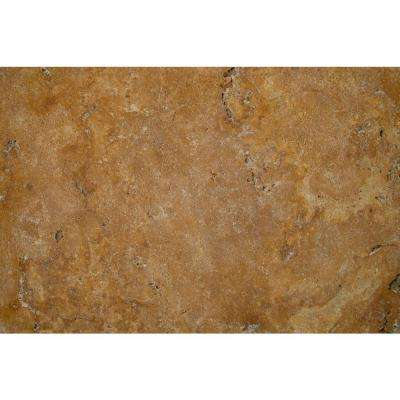 24 in. x 16 in. x 1.18 in. Porcini Tumbled Travertine Paver Tile (60 Pieces/160.2 sq. ft./Pallet)