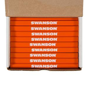 Swanson Carpenter Pencils Bulk (72 Pencils Boxed) by Swanson