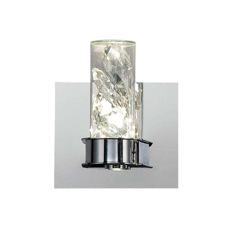 Wall Lights York: Eurofase York Collection 2-Light Chrome LED Wall Sconce