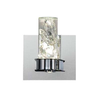 York Collection 2-Light Chrome LED Wall Sconce