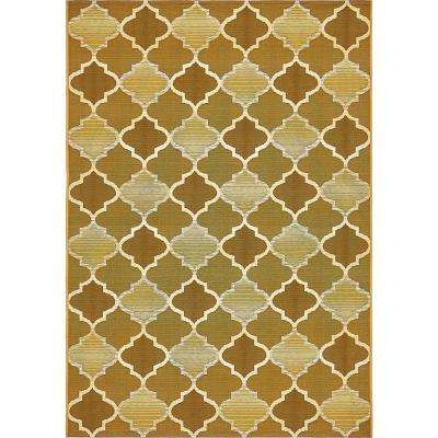 Outdoor Gold 4' 0 x 6' 0 Area Rug