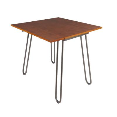 Henry Cherry and Gray Dining Table