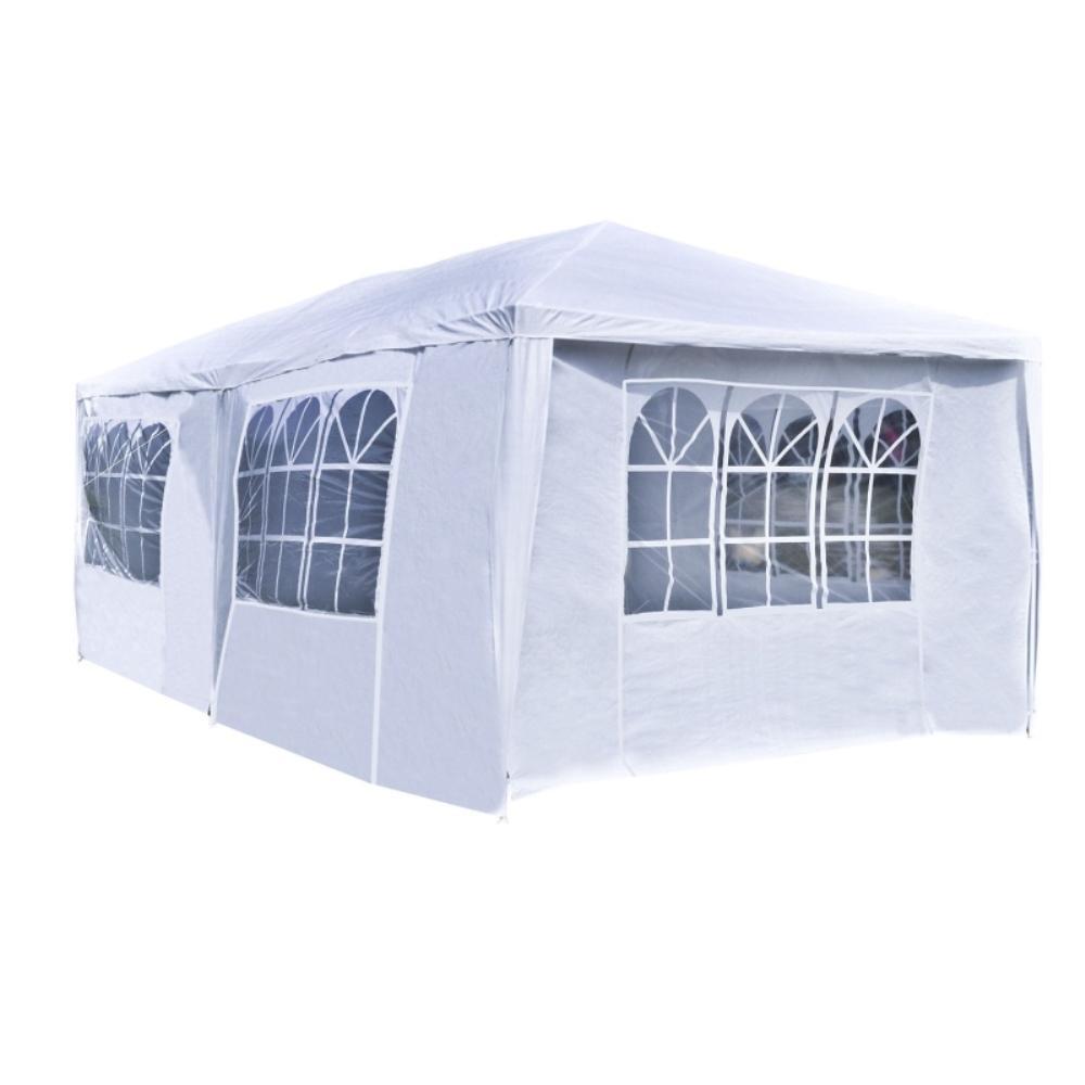 ALEKO 10 ft. x 20 ft. x 8.2 ft. White Roof Polyethylene Tent