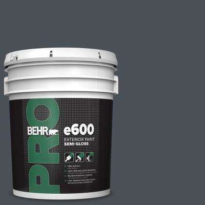 5 gal. #PPU25-22 Chimney Semi-Gloss Acrylic Exterior Paint