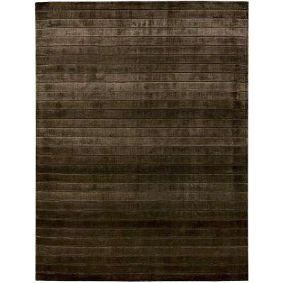 Aura Chocolate 5 ft. 6 in. x 7 ft. 5 in. Area Rug