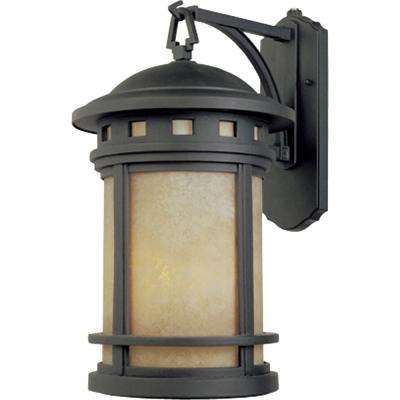 Sedona Oil Rubbed Bronze Outdoor Wall-Mount Lantern Sconce