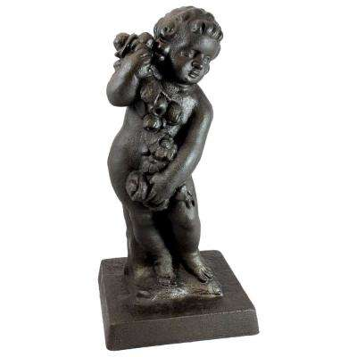 29 in. Bronze Color Cupid Lawn and Garden Statue