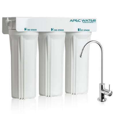 WFS-Series Super Capacity Premium Quality 3-Stage Under Counter Water Filtration System