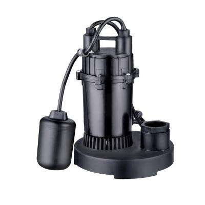 1/3 HP Thermoplastic Sump Pump