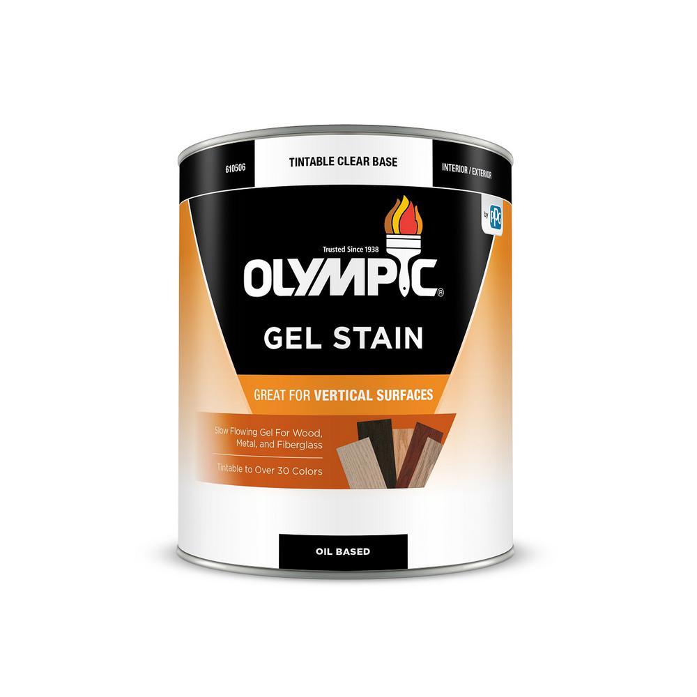 1-qt. Red Oak Semi-Transparent Oil-Based Interior/Exterior Gel Stain