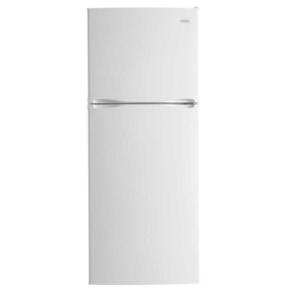 Danby 12.3 cu. ft. Top Freezer Refrigerator in White-DFF123C1WDB ...