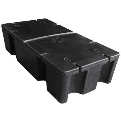 24 in. x 48 in. x 12 in. Foam Filled Dock Float Drum