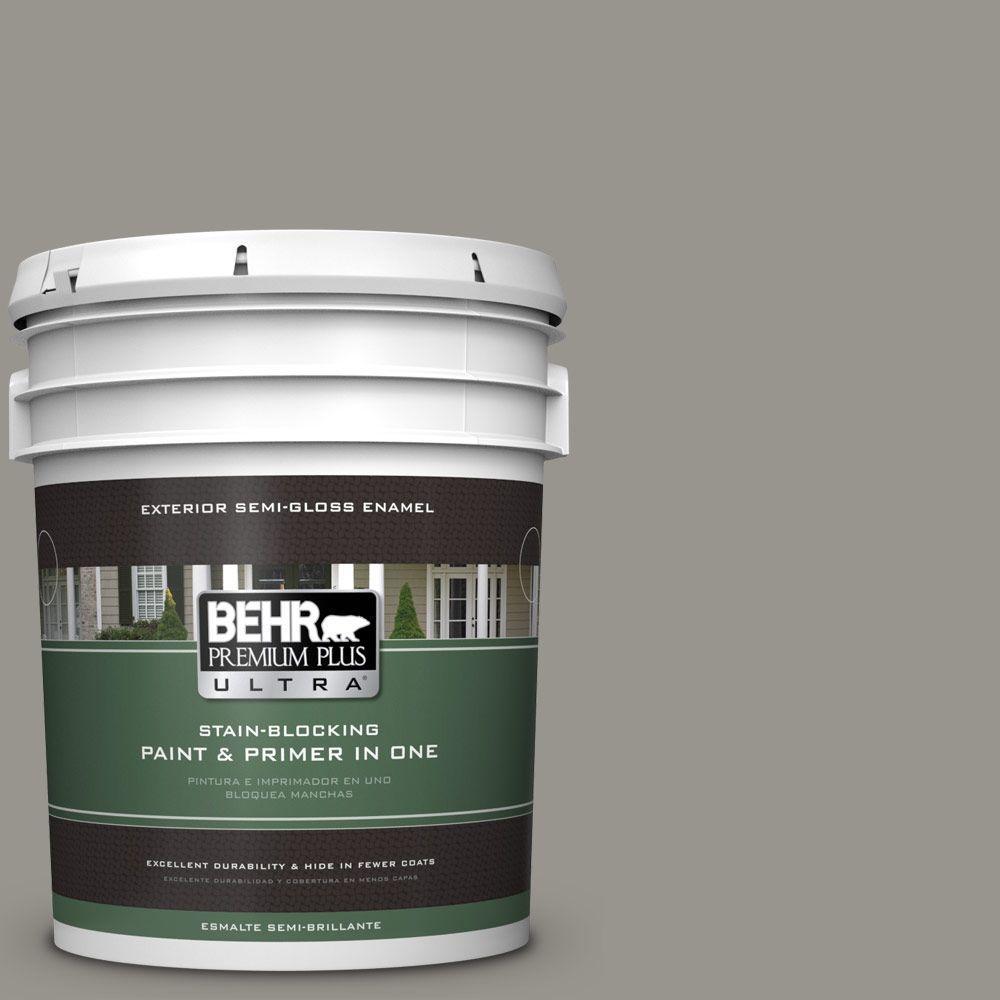 Behr Exterior Paint Home Depot behr premium plus ultra 5gal. n3604 battleship gray semigloss