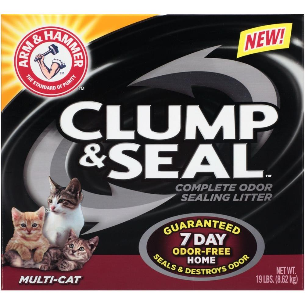 19 lb. Multi Cat Clump and Seal Clumping Litter