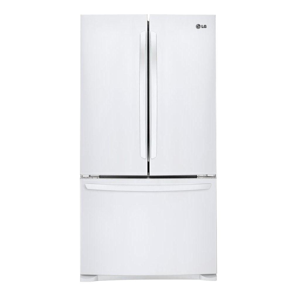 LG Electronics 28 cu. ft. French Door Refrigerator in Smooth White
