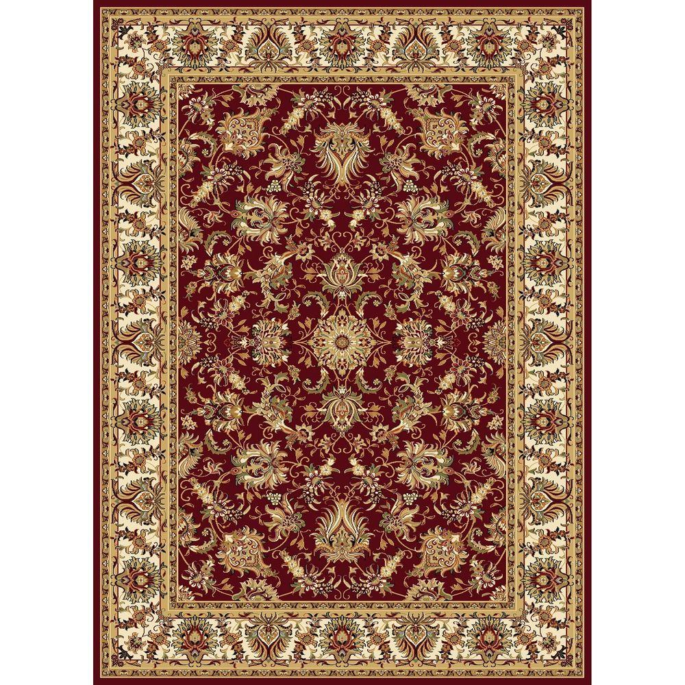 Williams Collection Ararat Red 7 ft. 10 in. x 10 ft.