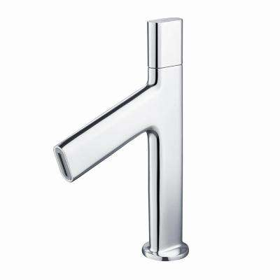 Ino Single Hole 1-Handle Low-Arc Bathroom Faucet in Chrome