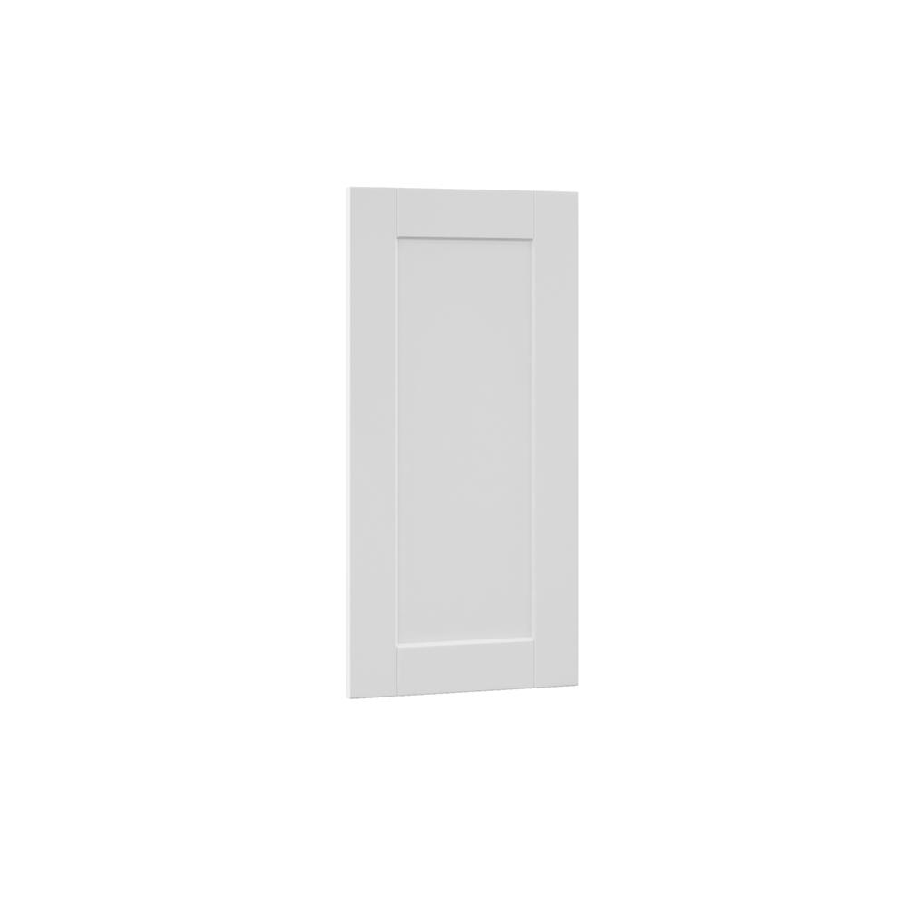 0.65x29.37x14.50 in. Shaker Island Decorative End Panel in Satin White