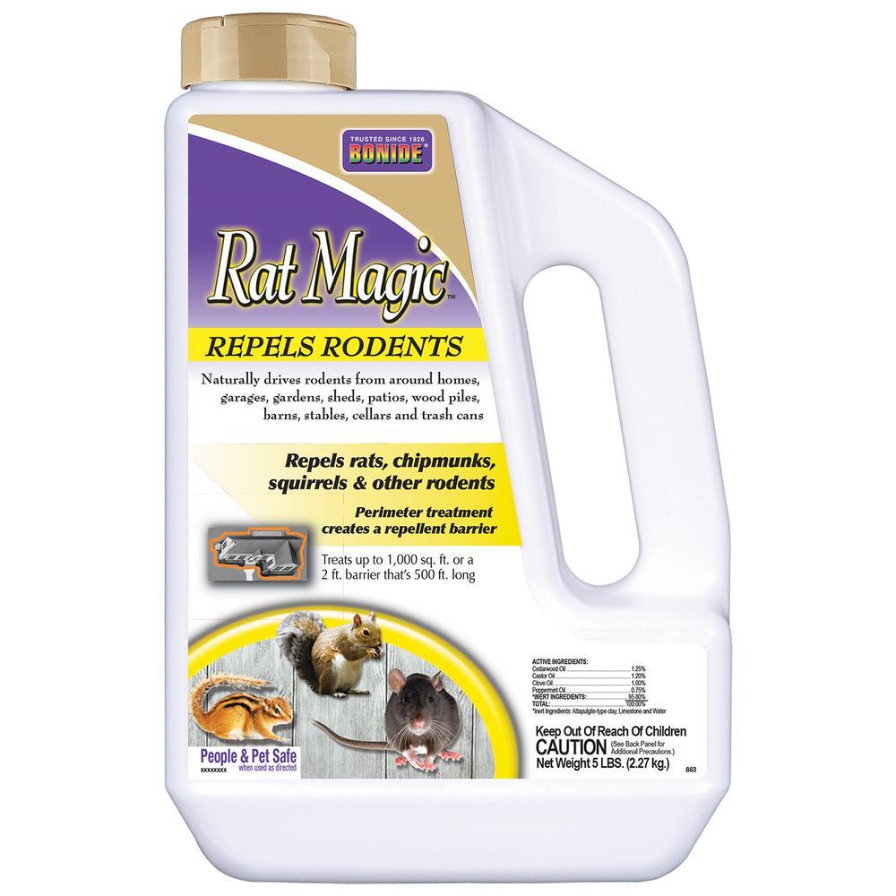 5 lbs Rat Magic Rodent Repellent Granules