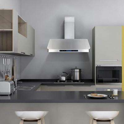 30 in. Under Cabinet Range Hood With Light in Stainless Steel