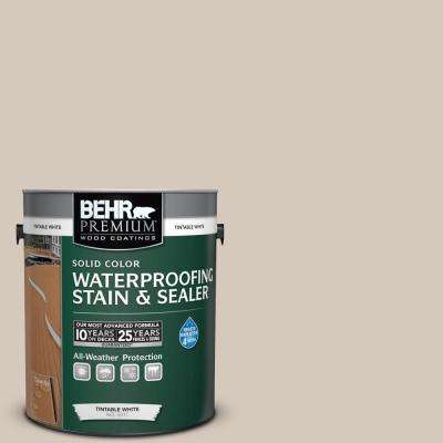 1 gal. #N230-2 Old Map Solid Waterproofing Stain and Sealer
