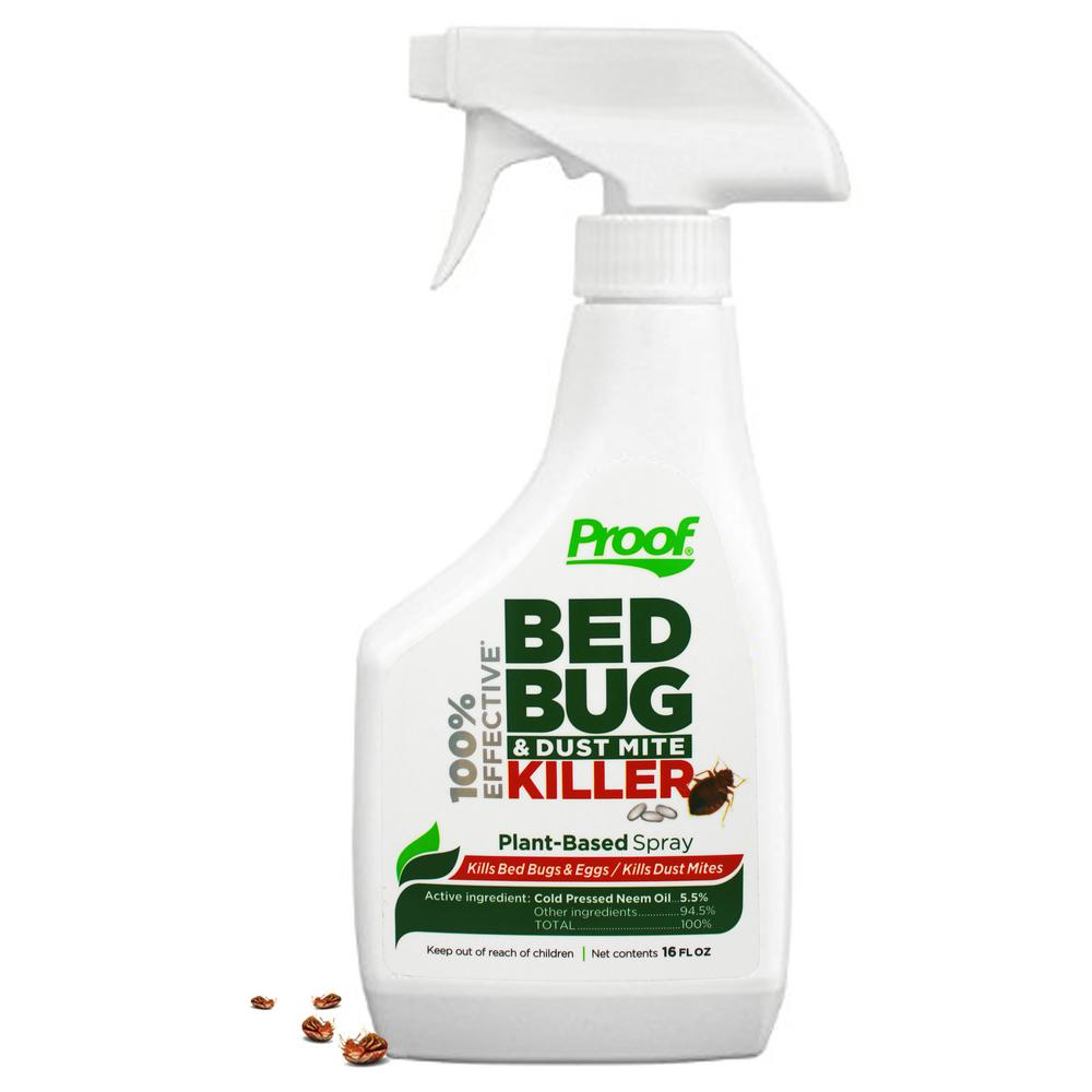 Proof Proof Bed Bug And Dust Mite Killer Spray 100 Effective Lab