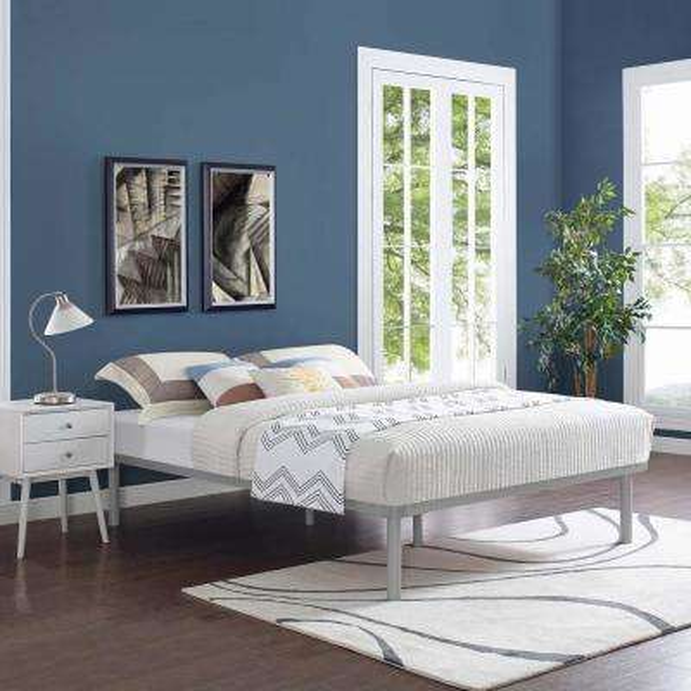 Rowan Gray King Bed Frame