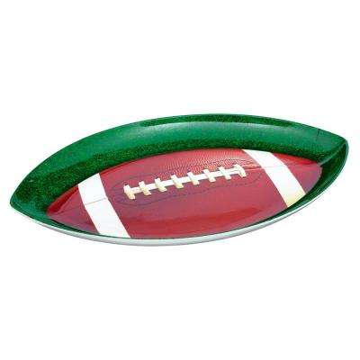 17.5 in. x 1.25 in. Football Shaped Platter