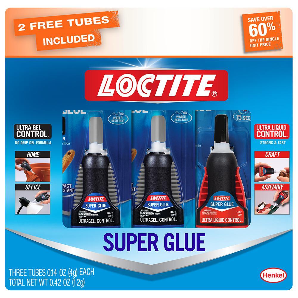 3-Pack Loctite 0.14 oz. Ultra Super Glue