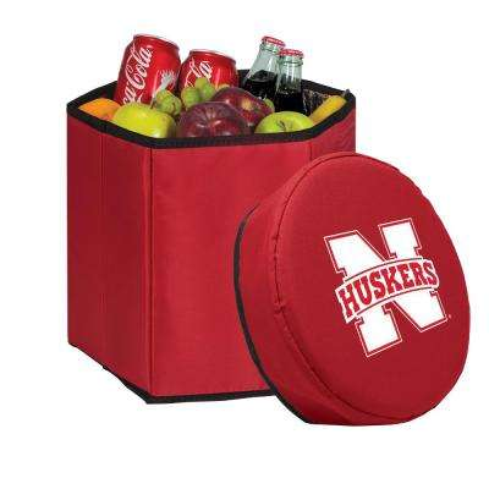 12 Qt. Nebraska Cornhuskers Red Bongo Cooler