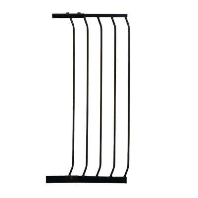 14 in. Gate Extension for Black Chelsea Extra Tall Child Safety Gate