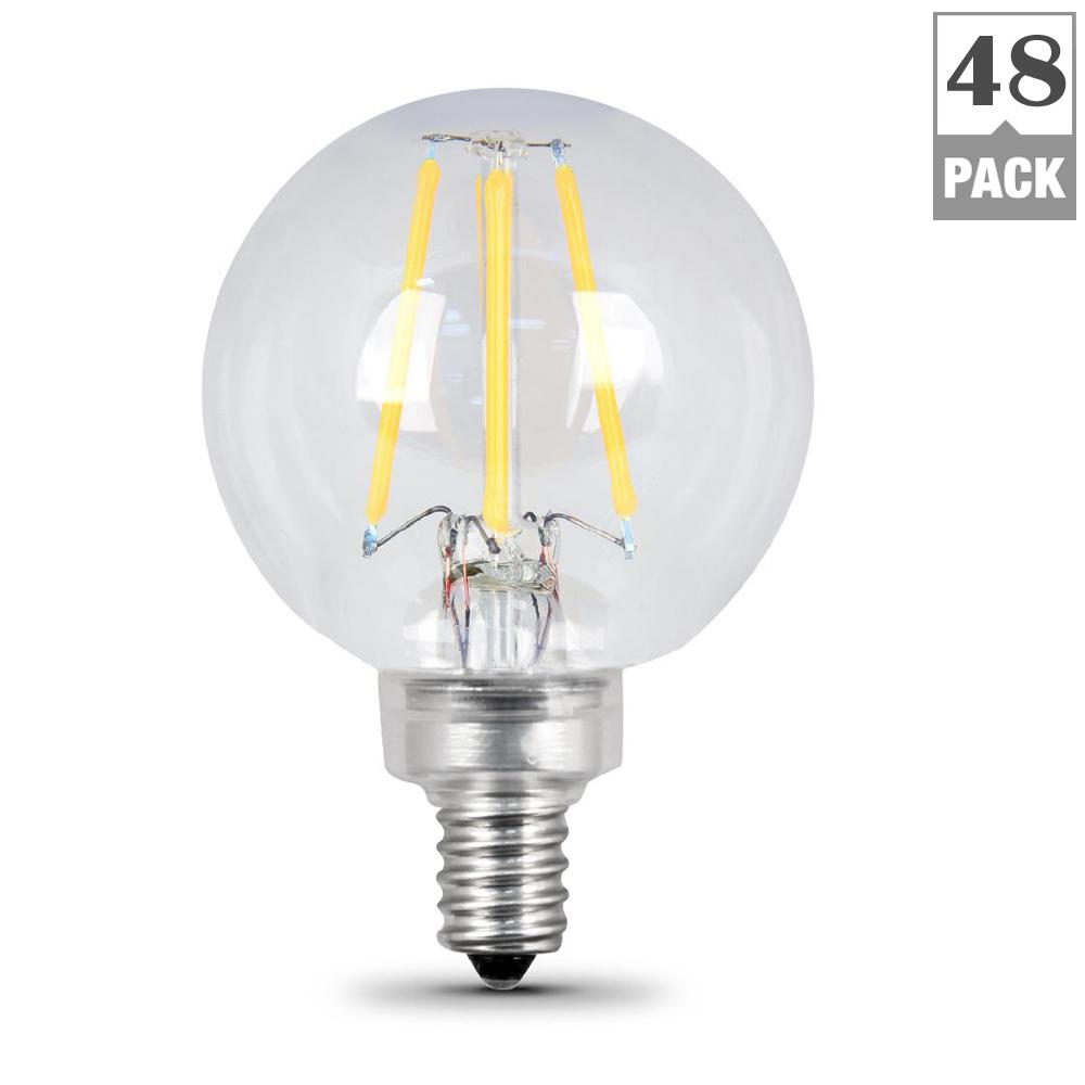 Feit Electric 40w Equivalent Soft White 2700k T10: Feit Electric 40W Equivalent Soft White (2700K) G16.5
