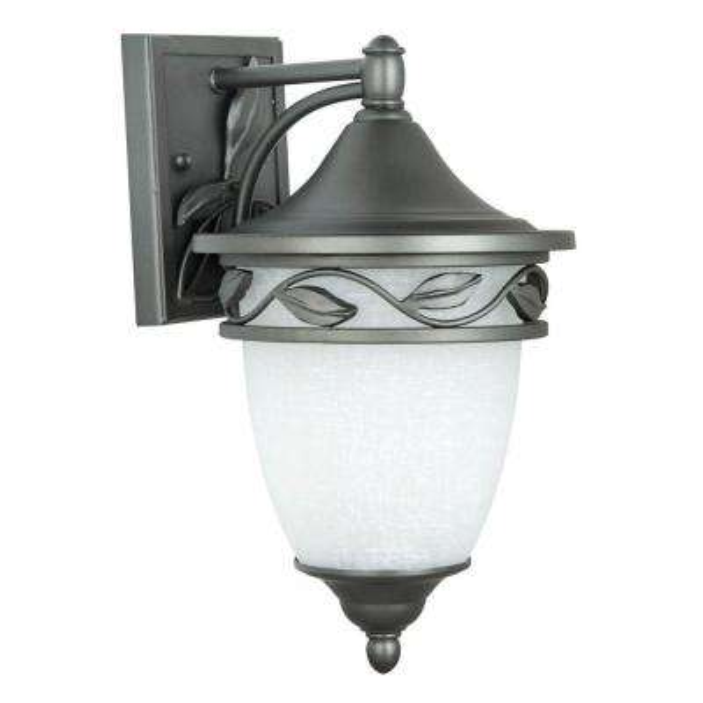 Holifield Iron 1-Light Natural Iron Outdoor Wall Lantern
