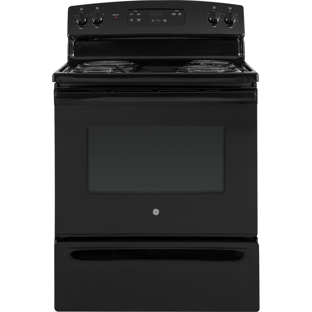 Ranges At The Home Depot Electric Vehicle Supply Equipment On Oven Without Hard Wiring Range In Black