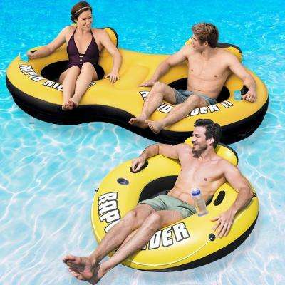 Rapid Rider Swimming Pool Float Combo Pack