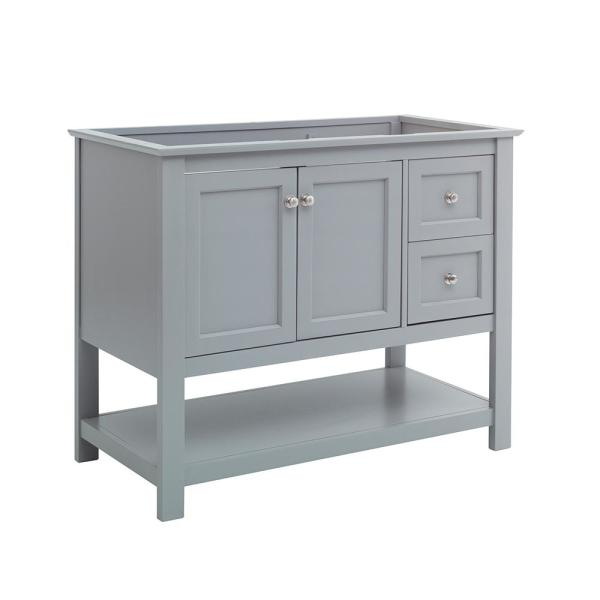Manchester 40 in. W Bathroom Vanity Cabinet Only in Gray