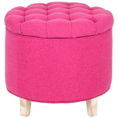 Modern - Ottoman - Pink - Furniture - The Home Depot