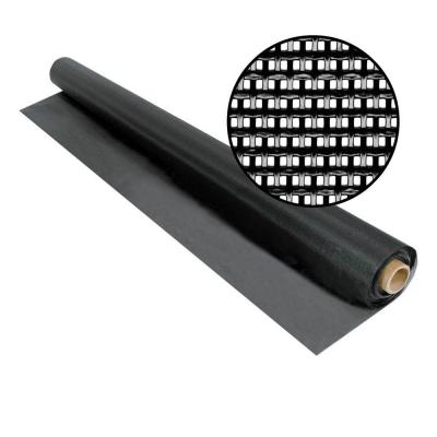 96 in. x 100 ft. Black SunTex 80