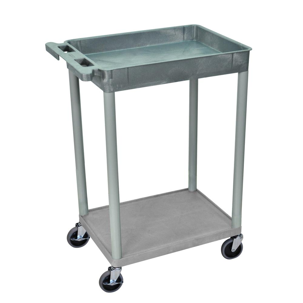 STC 24 in. W x 18 in. D Tub 2-Shelf Utility